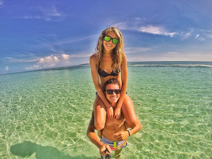 Our first trip together that required a passport was to the Bahamas