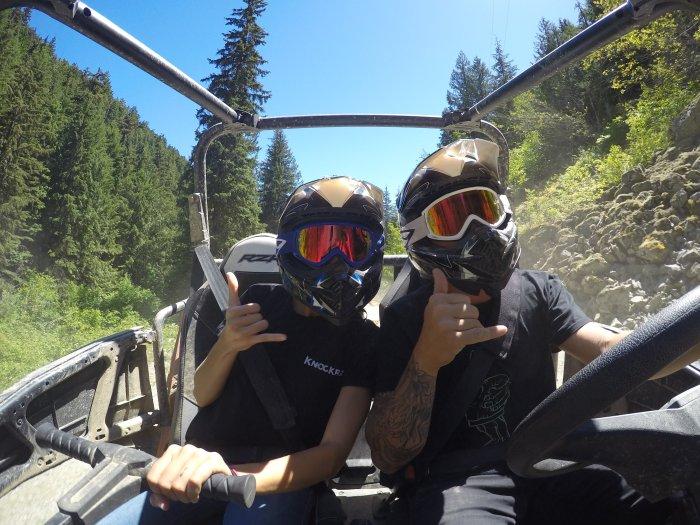 Cruising through the Mountains in Canada